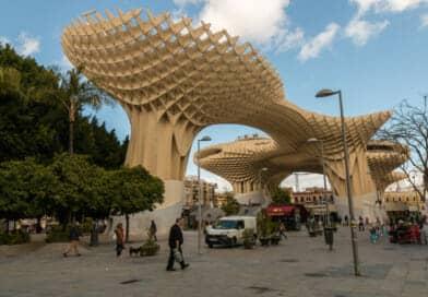 Las Setas de La Encarnación, of Metropol Parasol in Sevilla. Uit het Fotoalbum Spanje op www.edvervanzijnbed.nl