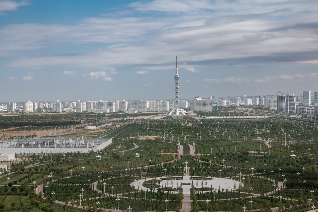 Ashgabat, the white city