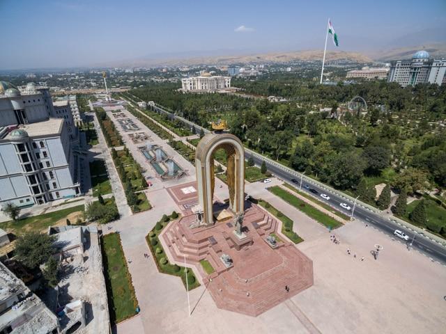 Circling in Tajikistan
