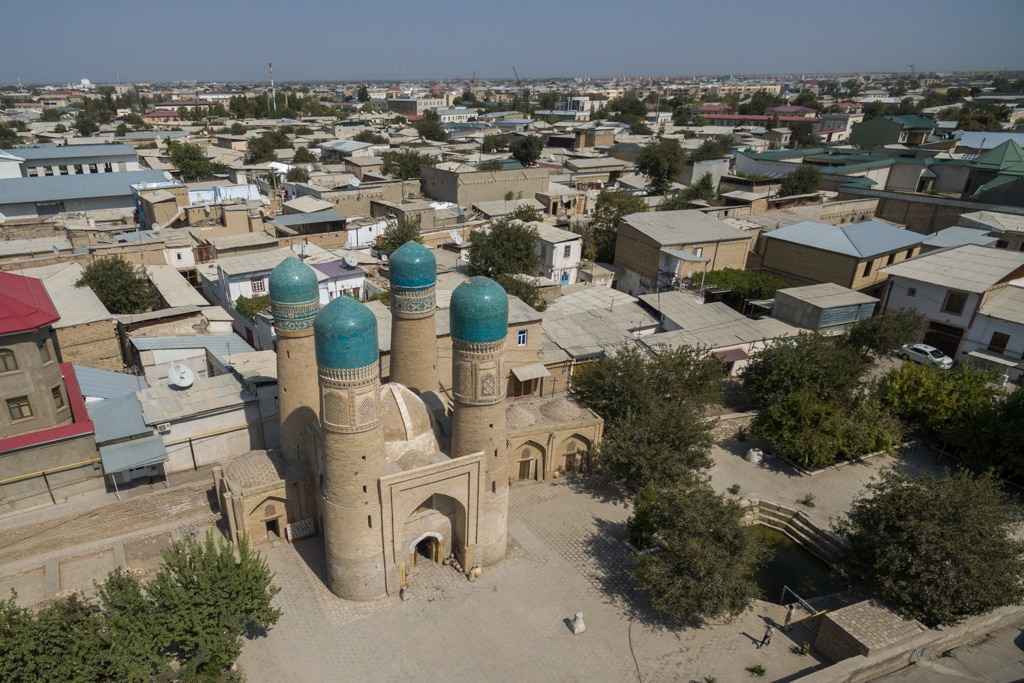 Flightseeing in Uzbekistan