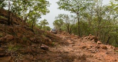 De weg tussen Kédougou en Labé. Foto van www.edvervanzijnbed.nl