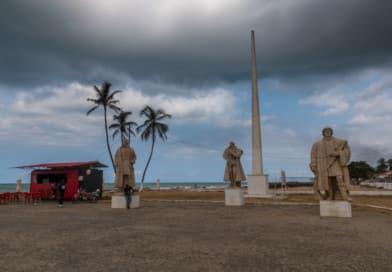 De ontdekkers van de eilanden, uit Fotoalbum São Tomé en Principe op www.edvervanzijnbed.nl