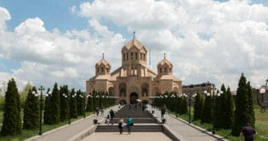 Like in every European city in Yerevan too you'll find lots of churches.