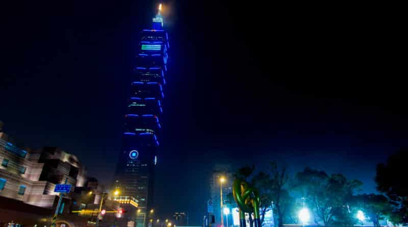 The Taipei 101, not an example of Dutch influence in Taiwan.