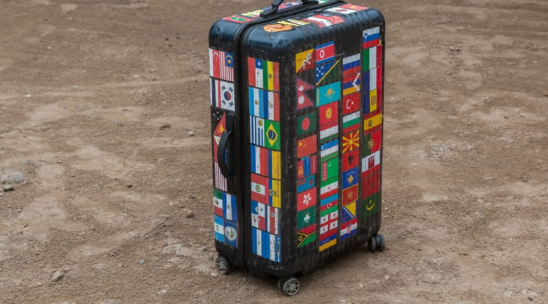 After visiting one hundred countries my suitcase is almost full. www.edvervanzijnbed.nl/en/